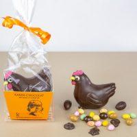 Animaux en Chocolat Noir Paques 2019 Cocotte