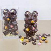 Animaux en Chocolat Noir Paques 2019 Grenouille