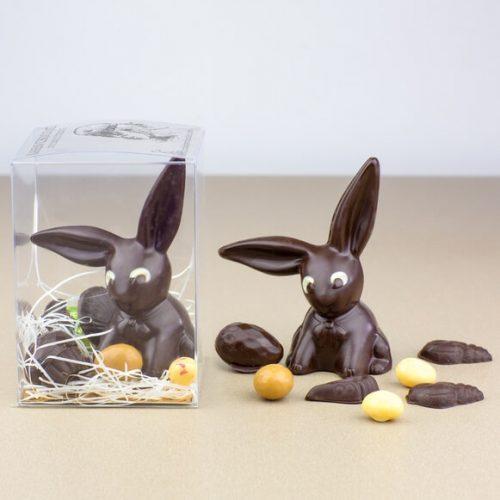 Animaux en Chocolat Noir Paques 2019 Petit Lapin