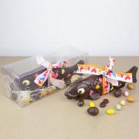 Animaux en Chocolat Noir Paques 2019 Poisson