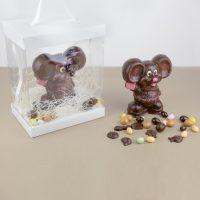 Animaux en Chocolat Noir Paques 2019 Souris