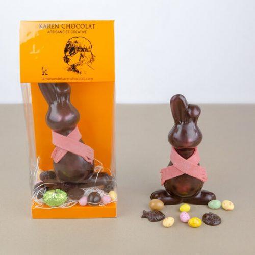 Animaux en Chocolat au Lait Paques 2019 Lapin