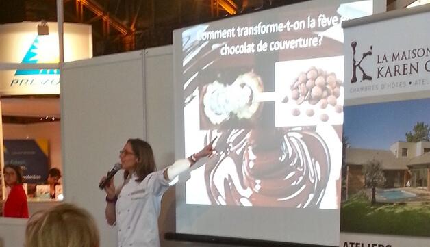 Apprentissage Chocolat Salon Exposition Lyon Conférence