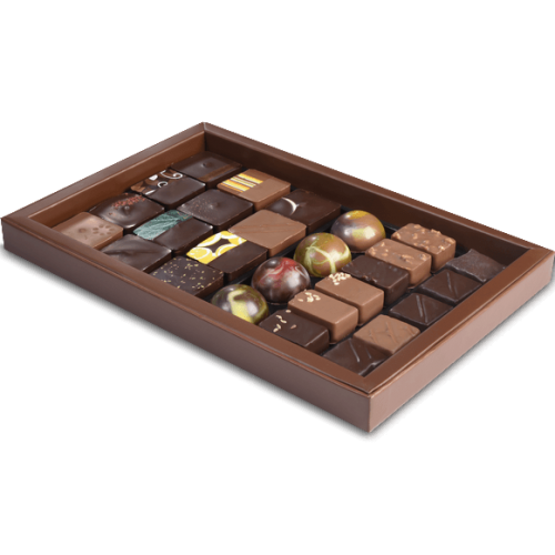 Boite Collection Chocolat Pur Beurre Cacao 210g