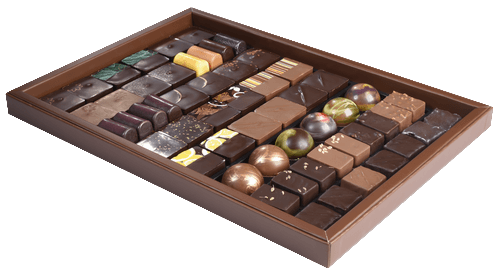 Boite Collection Chocolats Karen Bonnet 410g