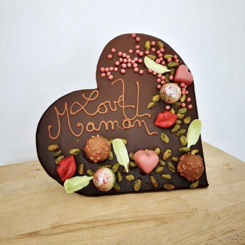 Cadre Chocolat Gourmand Love U Maman