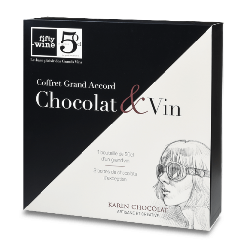 Coffret Grand Accord Chocolat Vin Lyon
