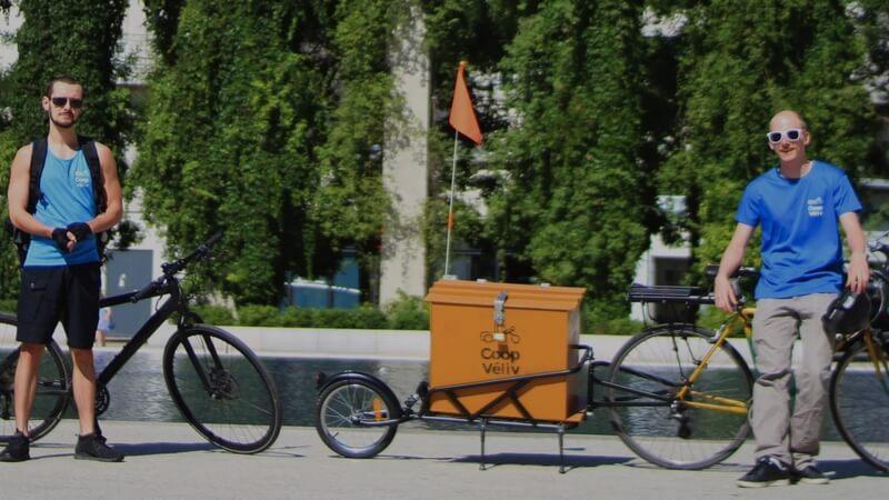 CoopVeliv Service Livraison Domicile Vélos