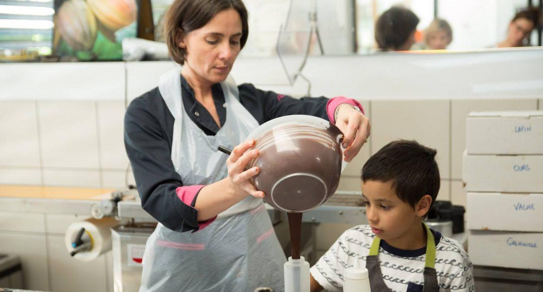Cours De Chocolat Pour Les Enfants Petits Commis