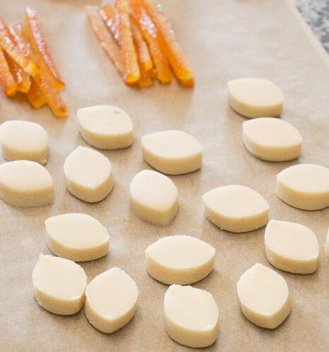 Cours de Patisserie Limonest Pate d'Amande