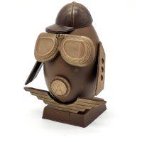 Création Chocolat Oeuf Pâques Aviateur