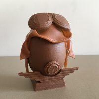 Creation Chocolat Paques L'Oeuf Aviateur Karen Chocolat