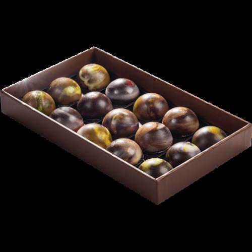 E-commerce Chocolatier Caramels Coeurs Coulants Boite Ouverte