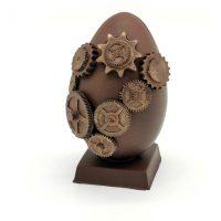 Oeuf Steampunk Engrenages Chocolat