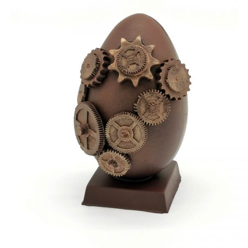 Oeuf Steampunk Engrenages Chocolat