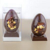 Oeuf de Paques Chocolat Fruits Secs