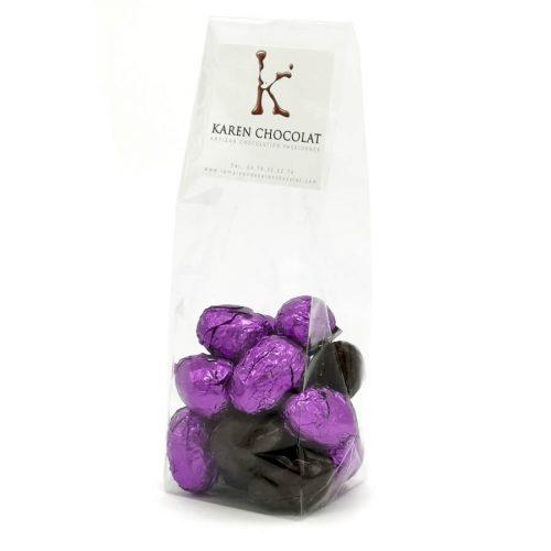 Oeufs Pralinés Pâques Enrobage Chocolat