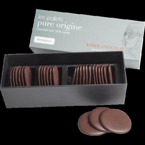 Palets Chocolat Intense Origine Madagascar