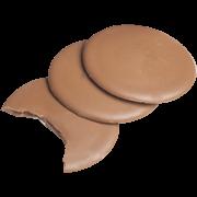 Palets Chocolat au Lait Fourrés Caramel Salé