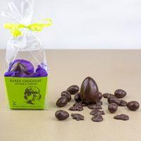 Panier de Paques Garni Fritures Oeufs Chocolat Noir