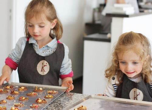 Petit Commis Enfant Cours Cuisine