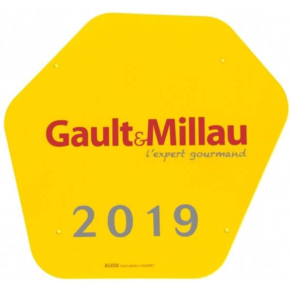 Plaque Gault&Millau 2019 Karen Chocolat