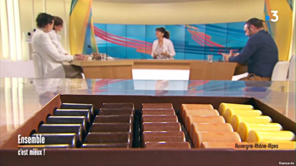 Présentation Chocolat pour Apéritif France 3