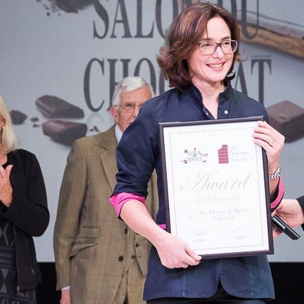 Remise de prix Salon du Chocolat PARIS 2017 Catégorie