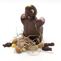 Sculpture Chocolat Hurlu Tortue