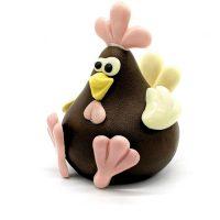Sculpture Chocolat Roule Ma Poule