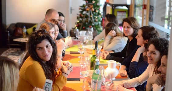 Table Noel Séminaire Teambuilding Lyon
