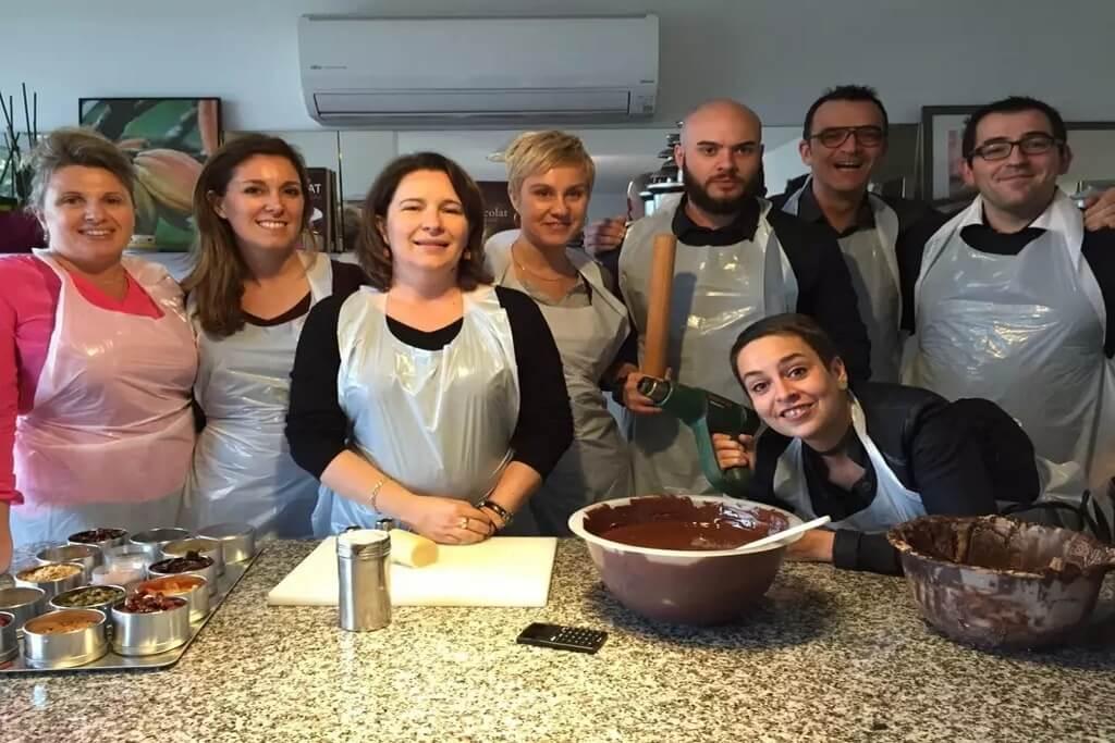 Team building chocolat Entreprise Lyon