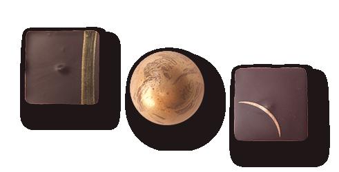 Trio de Ganaches Caramel Chocolat en ligne